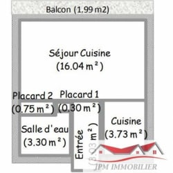 Marnaz - 1 pièce(s) - 27.15 m2 - 2ème étage