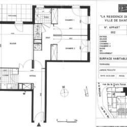 La Plaine St Denis - 4 pièce(s) - 66 m2