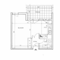 Courbevoie - 1 pièce(s) - 35 m2 - Rez de chaussée
