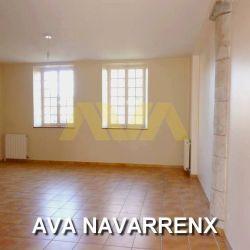 Appartement de 3 pièces avec cour