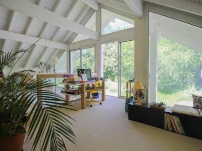 Villa - écrin de verdure -  grande surface vitrée - 254m2 habita