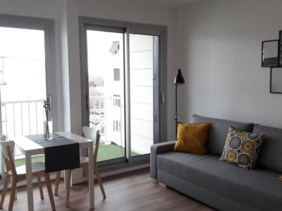 A louer - Appartement  1 pièce 24.82 m2 avec garage et cave