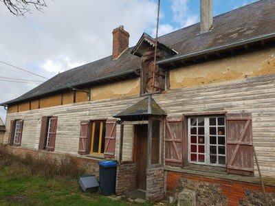 Maison de plain pied située proche de Formerie