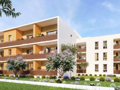 Castelnau-le-Lez F3 Neuf  61.50m²+Terrasse+ Garage