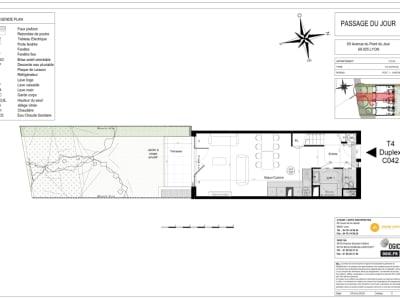 Maison Duplex  4 pièce(s)
