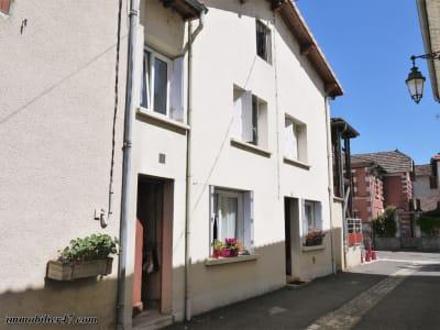Maison de ville Castelmoron Sur Lot 4 pièces 80m²