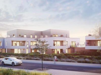 DRUSENHEIM - Spacieux 4 Pièces 92,40 m² en REZ-DE-JARDIN