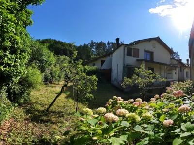 Maison de village avec jardin plein sud vue sur montagnes