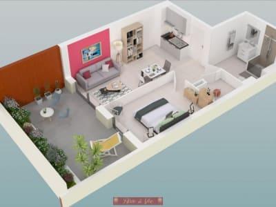 Bormes Les Mimosas - 1 pièce(s) - 39.02 m2 - Rez de chaussée
