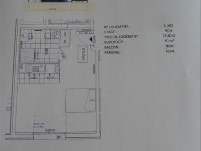 APPARTEMENT SCEAUX - 1 pièce(s) - 30 m2