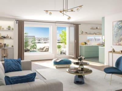 Thiais - 3 pièce(s) - 371000 m2 - 2ème étage
