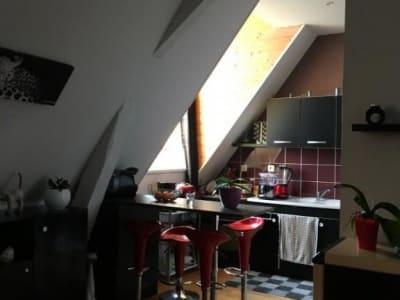En vente à Aire-Sur-La-Lys : appartement dernier étage 3 piè