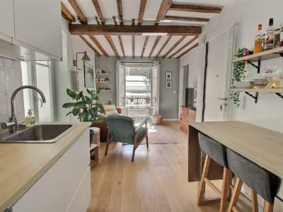 Appartement Paris 2 pièce(s) 25 m2