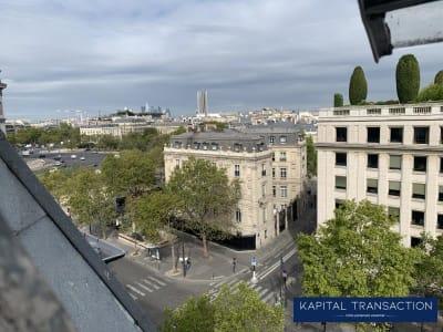 Paris 08 - 1 pièce(s) - 19 m2 - 6ème étage