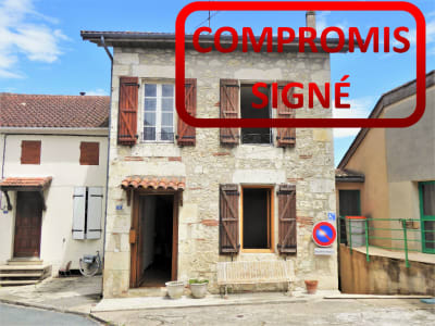 MAISON DE VILLAGE MONTPEZAT - 4 pièce(s) - 140 m2