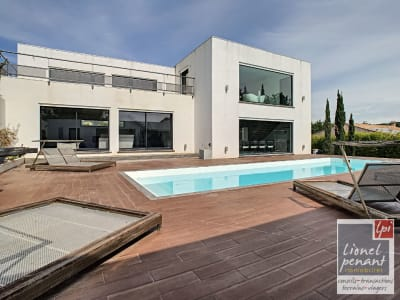 VILLA CONTEMPORAINE T8 300M² PISCINE POOL HOUSE GARAGE TERRAIN 1
