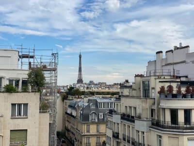 Paris 16 - 6 pièce(s) - 186.58 m2 - 8ème étage