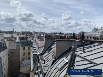 Paris 10 - 1 pièce(s) - 8 m2 - 7ème étage