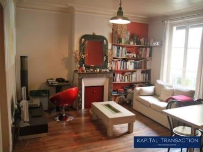 Paris 18 - 2 pièce(s) - 38 m2 - 1er étage