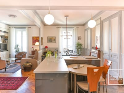 Lyon 6ème - Appartement 5 pièces Proximité Gare des Brotteaux