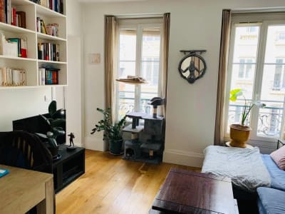 Appartement Paris 3 pièces de 44.09 m2 au sol