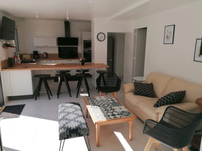 Grande maison meublée et équipée