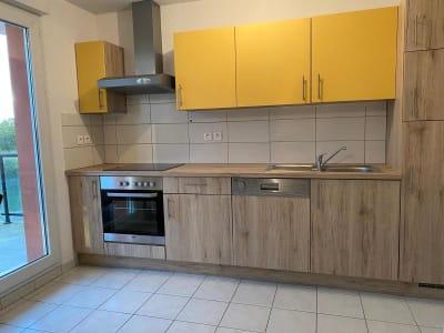 Appartement récent Huningue - 2 pièce(s) - 44.96 m2