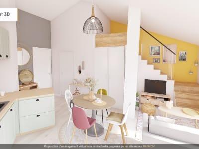 Studio coin nuit de 28 m² à Villeneuve Loubet