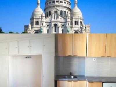 Paris 18 - 2 pièce(s) - 23 m2 - 4ème étage