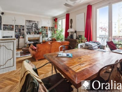 Paris 18 - 4 pièce(s) - 84.49 m2 - 3ème étage