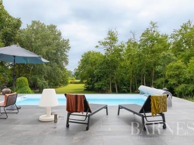 Saint Bernard - Trévoux - Maison d'architecte des années 70 de 2