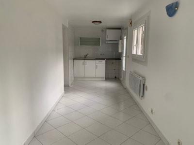 Appartement 1 pièce de 21m² en rez de jardin