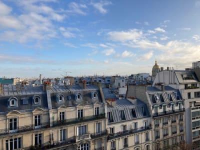 Studette meublée -  Av de la Bourdonnais -75007 Paris
