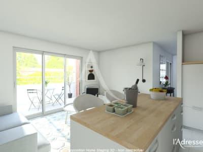 Appartement T3 -  56.95 m2 - 2 Places de parking en SOUS-SOL!