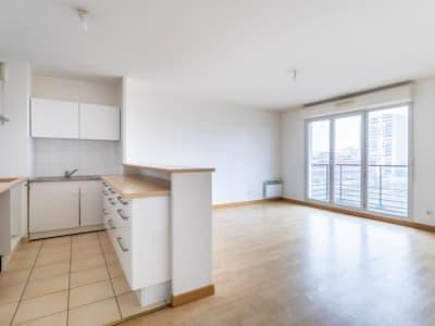 Paris - 3 pièce(s) - 58.56 m2 - 7ème étage