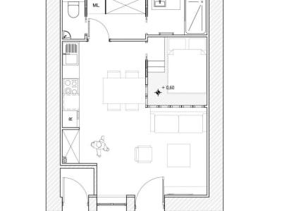 Ecully - 2 pièce(s) - 34.92 m2