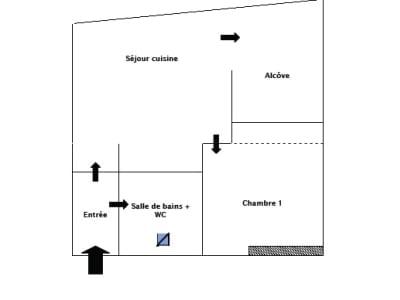 Lyon - 1 pièce(s) - 37,42 m2