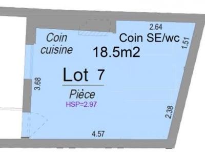 Bordeaux - 1 pièce(s) - 17.8 m2