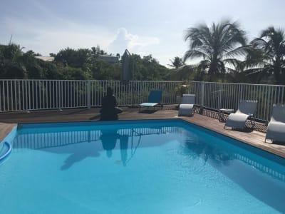 Sainte Anne Jolie maison cosy T4 piscine au sel, jacuzzi...