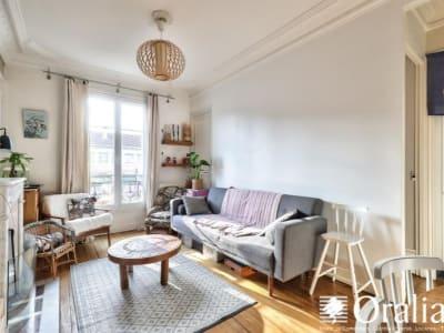 Paris 17 - 3 pièce(s) - 49 m2 - 4ème étage