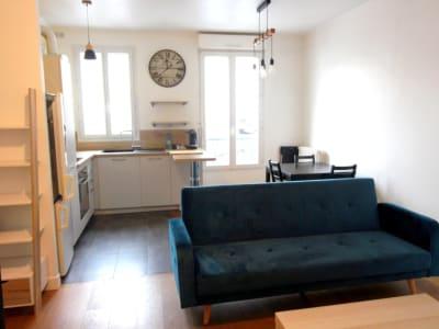 Levallois-Perret - 3 pièce(s) 53 m2 - en meublé