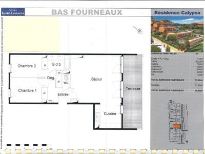 Balaruc Les Bains - 3 pièce(s) - 73 m2