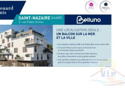 St Nazaire - 2 pièce(s) - 41 m2 - Rez de chaussée