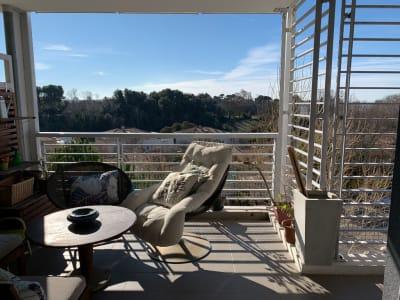 Superbe appartement  T3 avec terrasse et double garage secteur 1