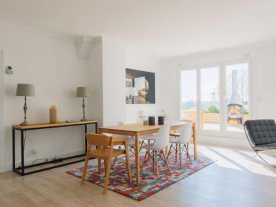Appartement en duplex - Vue magnifique sur la Seine