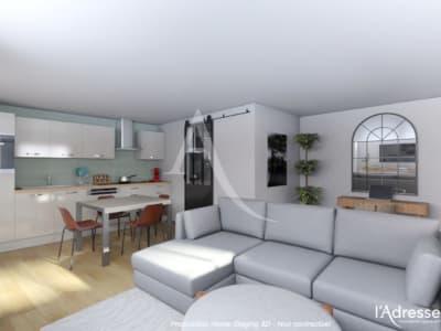 Local commercial  transformable en habitable  - T2 de 39 m2