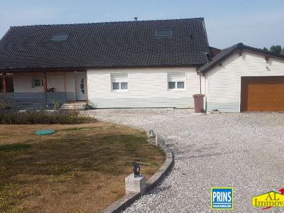 Maison Aire Sur La Lys plain-pied 3 chambres 130 m2
