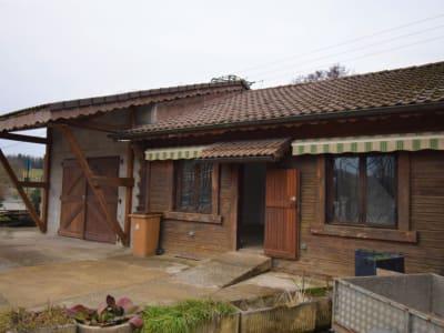 Local d'activité de 70m² + maison mitoyenne  de 60m² - 265 000€