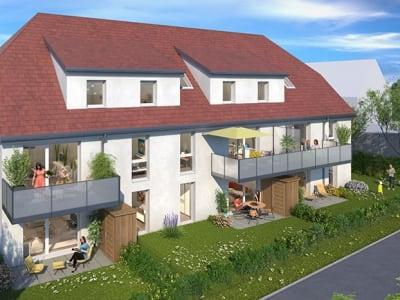 SCHWEIGHOUSE SUR MODER - Appartement 4 pièces avec terrasse