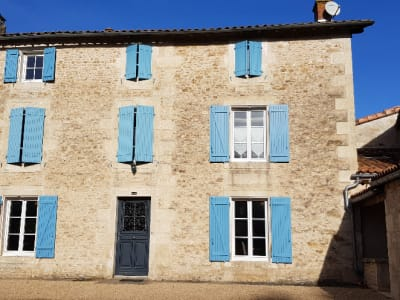 A 5 min de Saint Maixent et 20 min de l'entrée de Niort